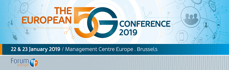 3rd European 5G Conference (22-23 January 2019) | IRG